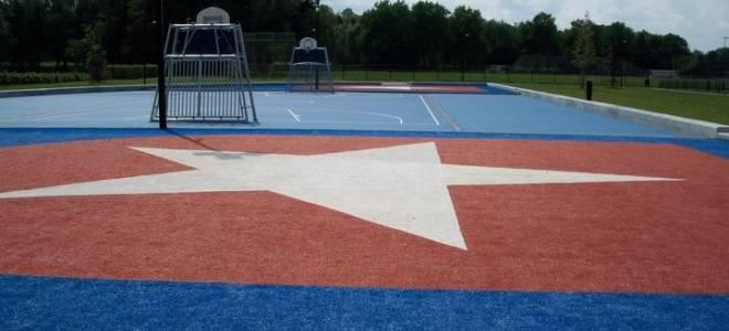 Court op sportpark West