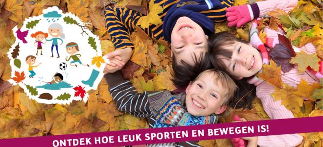 Coverfoto Sport experience Herfst 2018